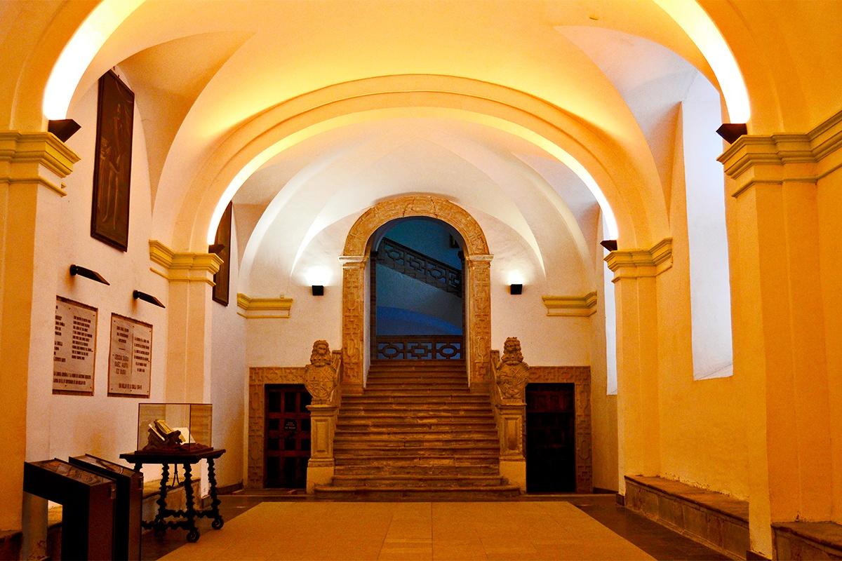 Escalinata Real Monasterio Yuso